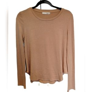 WILFRED FREE Diapason T-shirt Beige Long Sleeve